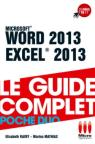 WORD, EXCEL 2013 (POCHE DUO)