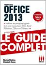 GUIDE COMPLET OFFICE 2013
